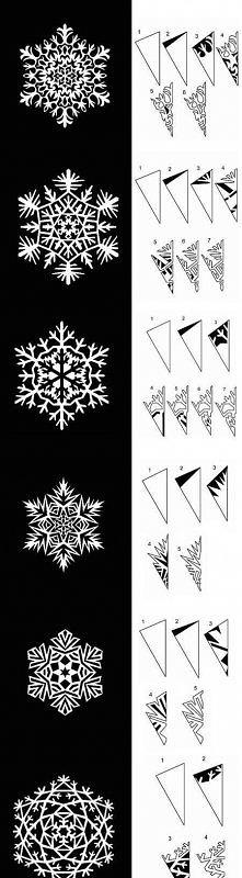 wzory na śnieżki