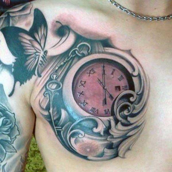 Tatuaż Zegara 3d Na Tatuaże Zszywkapl
