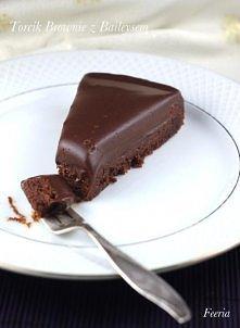 Torcik brownie z Baileysem