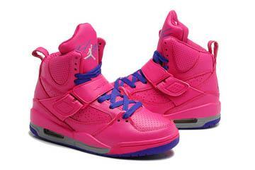 Szczegóły o Juniors Nike Jordan Flight 45 High IP BG 845095 002 Black Red Trainers