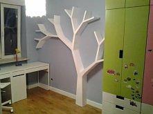 Półka jak drzewo 210x210x18cm