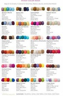 kilka ładnych zestawień kolorów