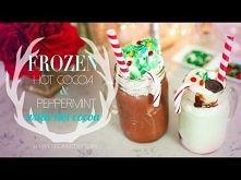 Delicious Frozen Hot Chocolate & Peppermint White Hot Cocoa | ANNEORSHINE