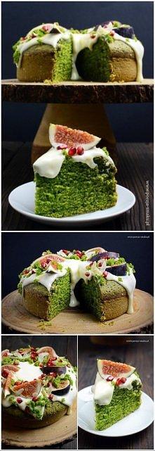 Ciasto ze szpinakiem ! - Szpinaku nie czuć w cieście, za to nadaje mu fantastyczny, naturalny, zielony kolor. Ciasto ze szpinakiem: 250 g świeżego szpinaku baby (nie mrożonego) ...