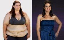 Moja motywacja :D  W rok zrzuciła 93 kg.
