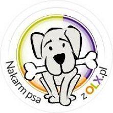 Oto kolejna z akcji olx.pl nakarm psiaka ze schroniska psiak dostanie jedzenie jeśli jego kość dojdzie do 100% Akcja jest całkowicie bezpłatna nic nie kosztuje wystarczy wybrać ...