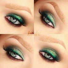 Kolorowy, świąteczny oraz sylwestrowy makijaż już na kanale oraz na blogu! Blog - kitulec beauty blog YouTube - kitulecmakeup