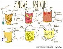 zimowe pomysły na napoje