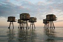 British Sea Forts, North Sea
