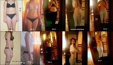NIE MOJE! P.S. Ćwiczyła z Mel B, początkowo w  maju ćwiczyła 6 razy w tygodni...