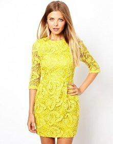 Sukienka z koronką :) z asos, jak wam się podoba? :) właśnie zamówiłam sobie taką na sylwestra :D