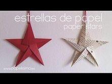 Como hacer estrellas de pap...