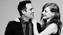Mark Ruffalo and Jessica Chastain, photographed by Ben Hassett for Variety, D...