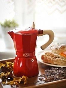 Przepiękna kawiarka. Idealne połączenie tradycji z nowoczesnością. To wspania...