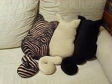 poduszka obrażony kot