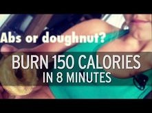 How to Burn 150 Calories in 8 Minutes  świetne cardio