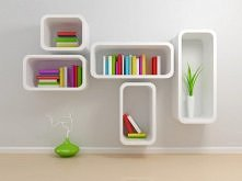 nowoczesne półki