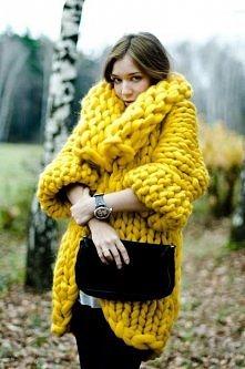 Ohh gdybym potrafiła tylko robić na drutach.