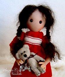 ooak doll inspirowane Santo...