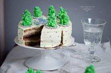 Tort korzenno - marcepanowy