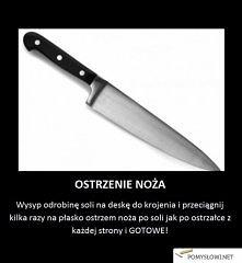 Niezwykły trik na ostrzenie noża
