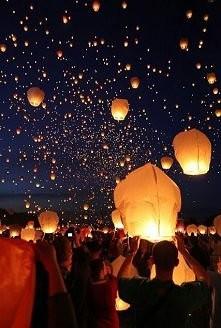 Lampiony zawsze piękne :)