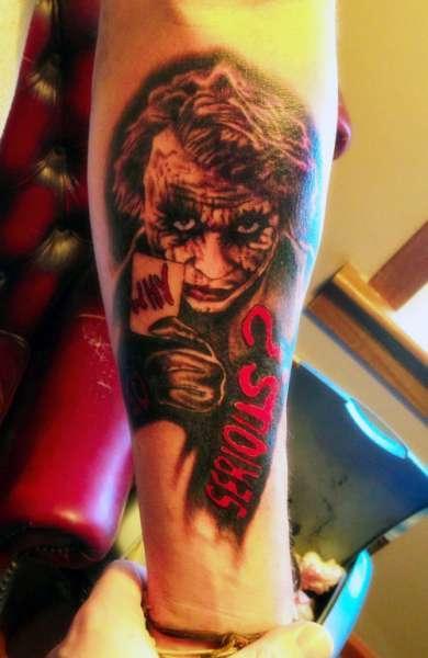 Joker Tattoo Na Tatuaże Zszywkapl