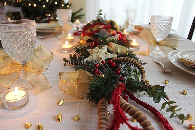 Cudna Dekoracja Na Stół Obożonarodzeniowy Na Dekoracje