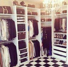 Chce taką garderobę :D