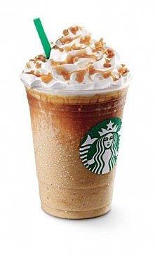 Przepis na Frappucino (karmelowe) ze Starbucks Składniki na 3 szklanki 200 ml: kawa: 4 łyżeczki kawy instant zaparzone w pół szklanki wody 1,5 szklanki lodów waniliowych 2 szkla...