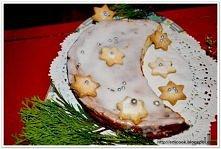 Serowy świąteczny półksiężyc Cheesecake Christmas