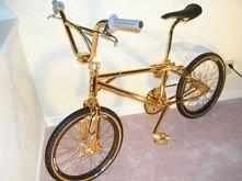 złoty rower :D