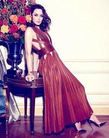 Emily Blunt, photographed by Yu Tsai for Rhapsody magazine, Dec 2014.
