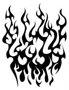 Ogień.