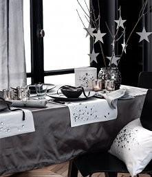 Dekoracje świątecznego stołu - kliknij po więcej ...