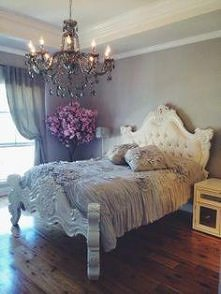 Łóżko księżniczki...
