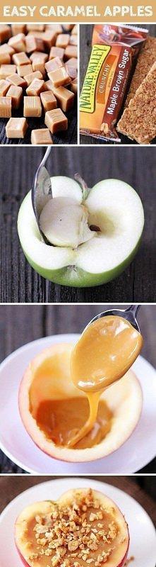 karmelowe jabłko