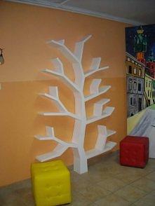 Półka drzewo 210x150x18cm