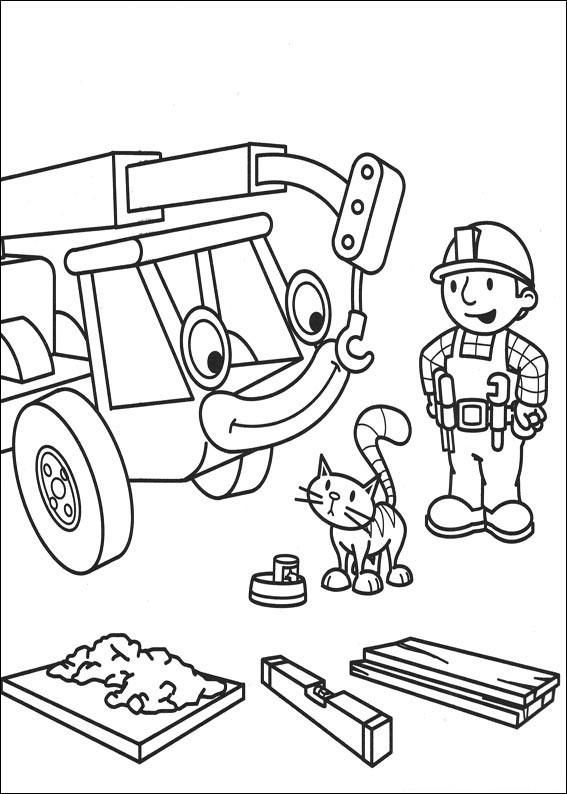 Kolorowanka Bob Budowniczy Dla Dzieci Na Dla Dzieci Zszywka Pl