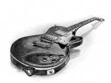 Gitara elektryczna.