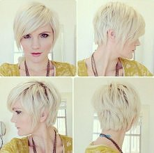 Pixie Haircut with Long Bangs