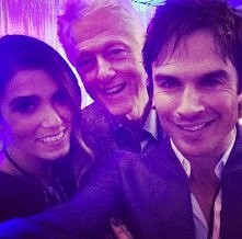 Ian Somerhalder, Nikki Reed,  Bill Clinton