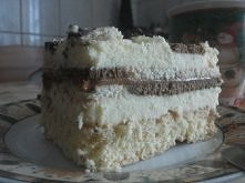 ciasto z toffie i masą budy...
