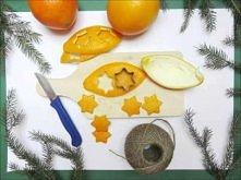 Pomarańczowy łańcuch - Orange garland