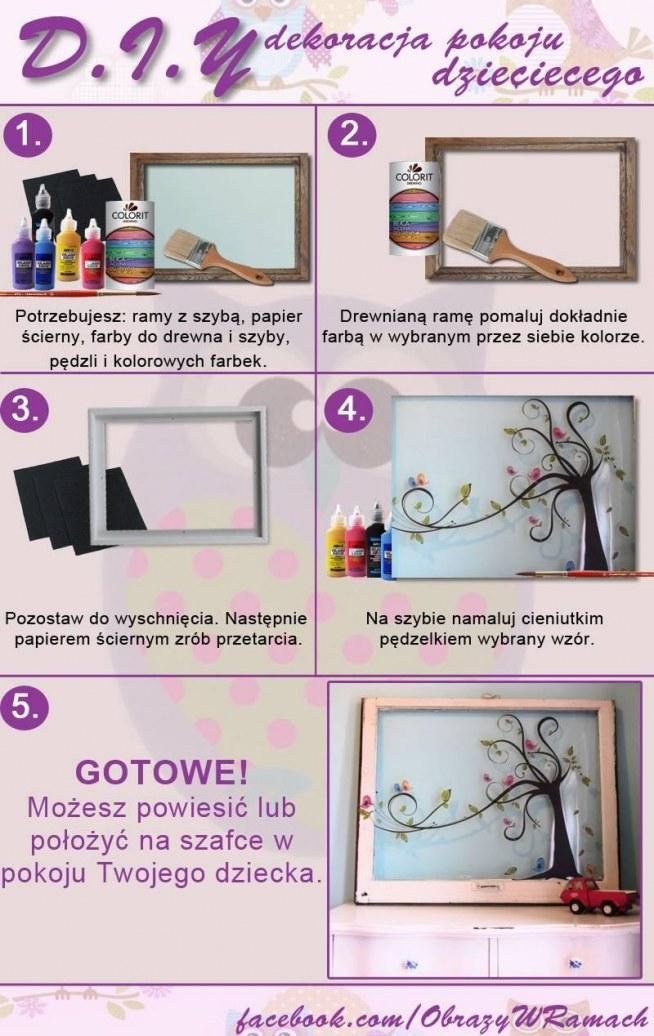 Pomysł na dekoracje pokoju dziecięcego. Po szczegóły klik w obrazek ;).