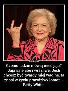 ale babcia!:D
