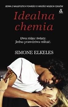 """""""Idealna chemia"""" Simone Elkeles ... gorąco polecam :) jedna z najlepszych książek jakie czytałam <3 *-*"""
