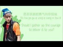 EXO-M XOXO (Color Coded Chinese/PinYin/Eng Lyrics)