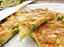 Co na śniadanie?   omlet z brokułami