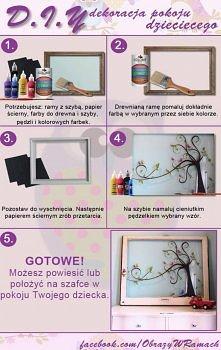 Pomysł na dekoracje pokoju ...